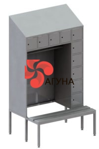 Шкаф нержавеющий для документов